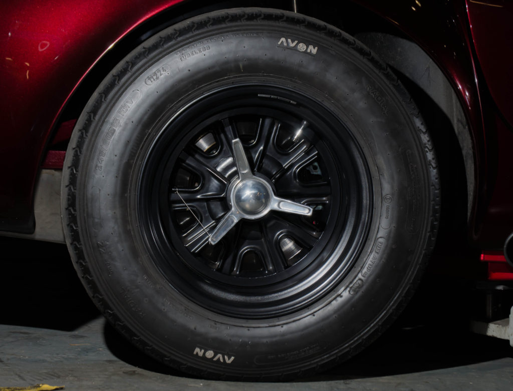 15 Inch Chb Black Centre And Rims Rear