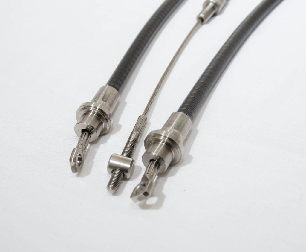 Handbrake Cable Set ( Xj40 Spade End)