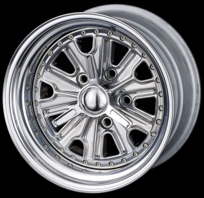 "Halibrand Replica Wheels and Tyres 17"" - GTD 5's"