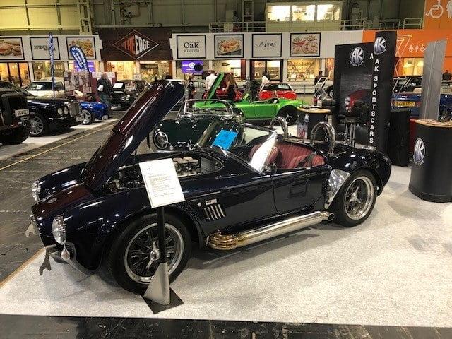 AK Sportscars - Blueberry demonstrator cobra for sale